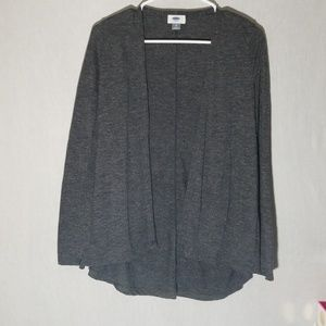 Open Unstructured Cardigan D1
